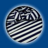 *DISCONTINUED* Nautical Stripe Navy