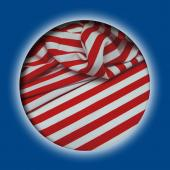 *DISCONTINUED* Nautical Stripe Red