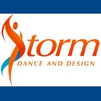 STORM DANCE AND DESIGN logo